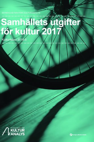 Omslagsbild Samhällets utgifter för kultur 2017