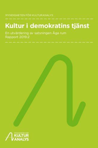 Oomslagsbild Kultur i demokratins tjänst