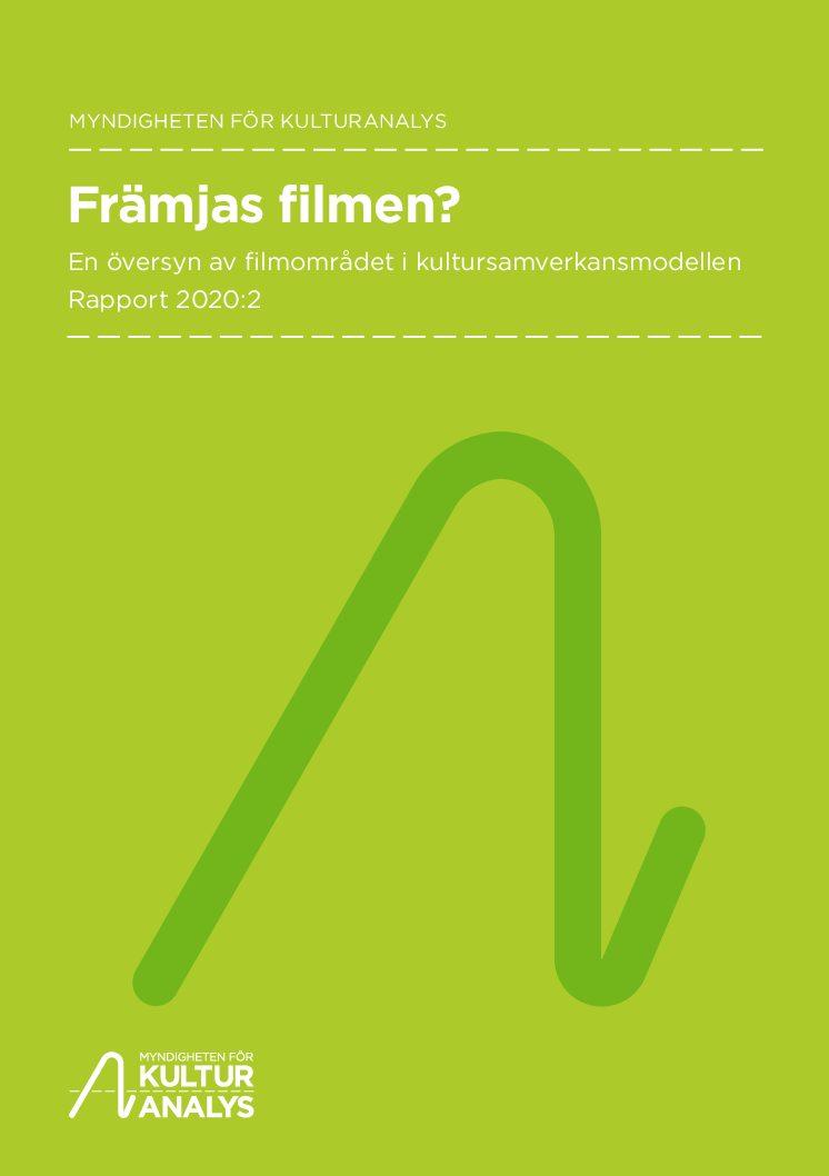 Omslagsbild Främjas filmen