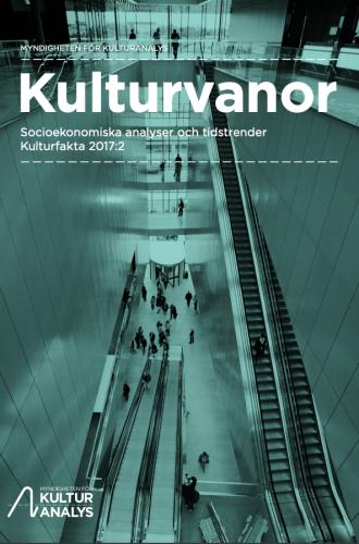 Omslagsbild Kulturvanor 2017