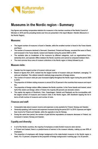 Omslagsbild engelsk sammanfattning av rapport